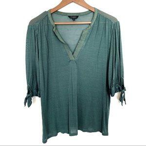 Lucky Brand V neck blouse